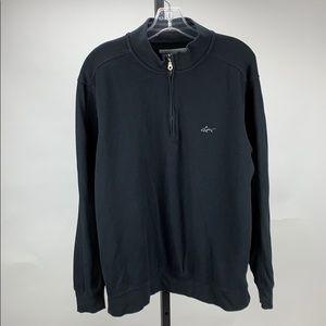 Greg Norman quarter zip sweater